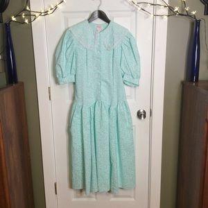 Vintage Jerri Lee Prairie Dress